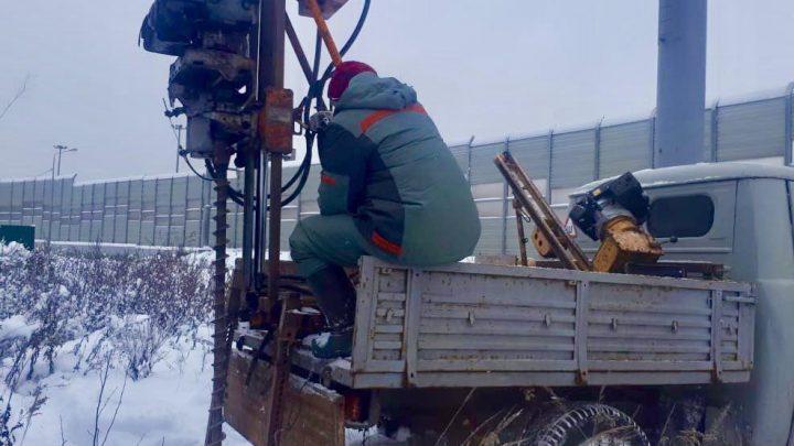 Геологические, экологические и гидрометеорологические изыскания развязки на Ярославском шоссе